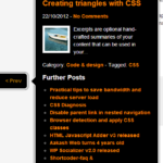 Advanced post navigator bubble with post information