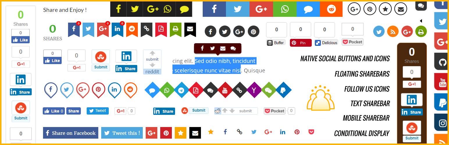 WP Socializer - Wordpress Plugin