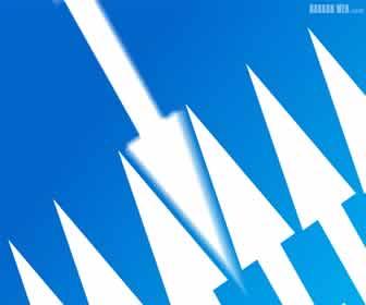 7 Arrows – Blue