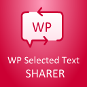 WP Selected Text Sharer